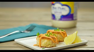 Crab Cakes with Smoked Paprika Mayonnaise