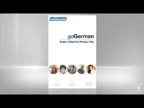 Pimsleur German Lesson 1
