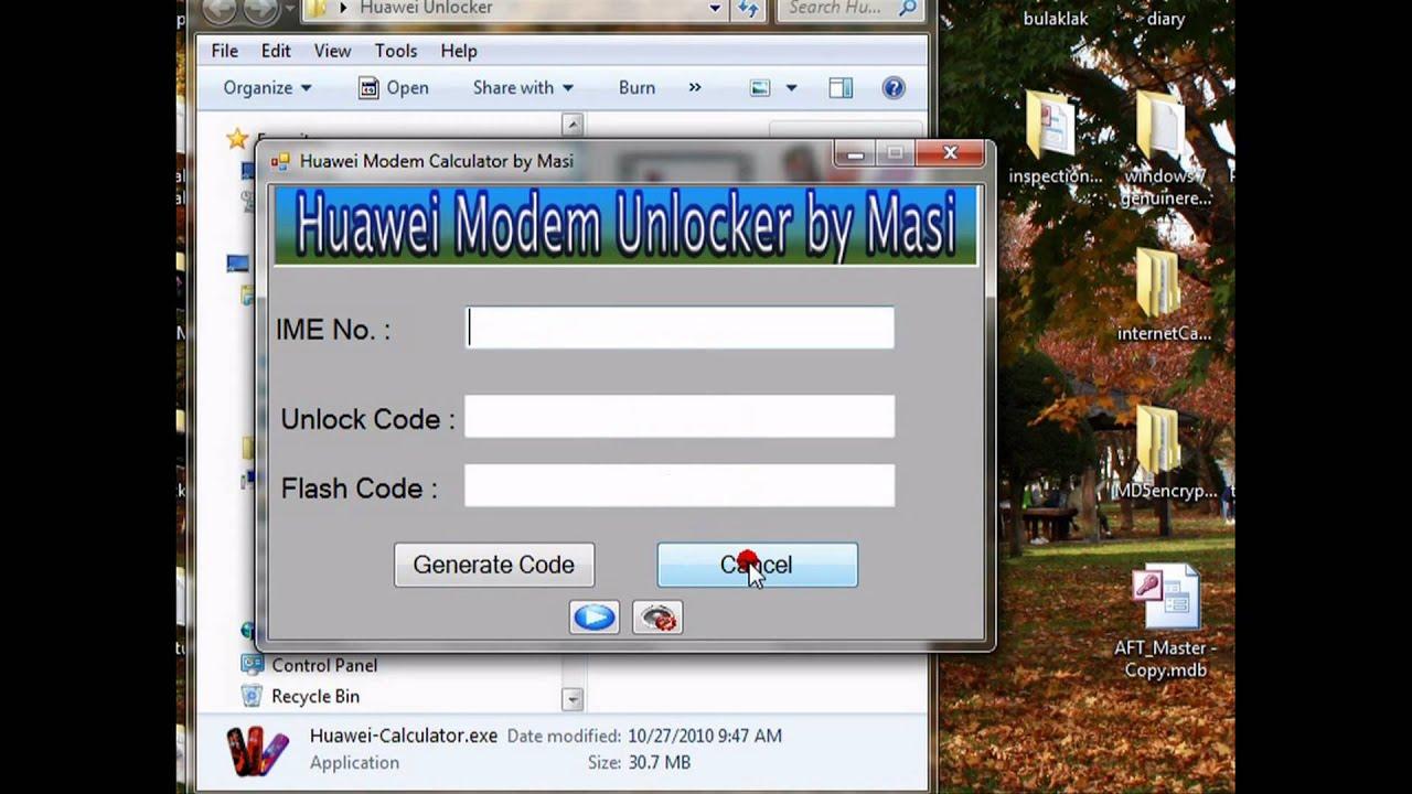 How to flash Huawei modem 22