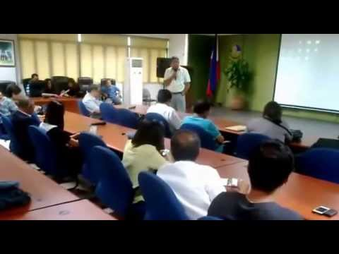 Proposed Solutions to Combat Air Pollution - Meeting at EMB-DENR