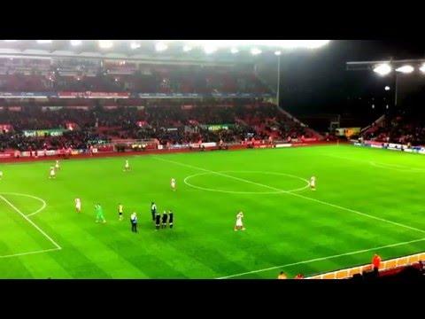 Stoke 3-2 Arsenal Full Time