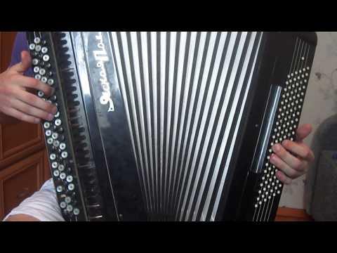 Эйлэнеп кайт эле авылга медленно на баяне(видеоурок)