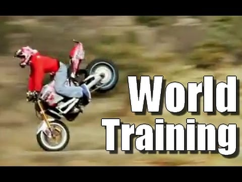 Stunt Riding Life Motorbike - World Training - Jorian Ponomareff