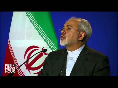 Iran Foreign Minister Javad Zarif discusses framework Iran nuclear deal