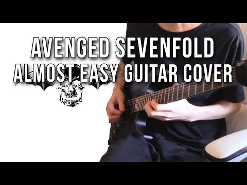 Avenged Sevenfold - Almost Easy (Guitar Cover)