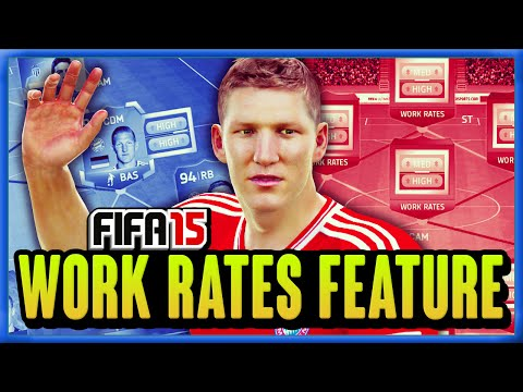 FIFA 15 - NEW WORK RATES FEATURE!!! - FIFA 15 ULTIMATE TEAM
