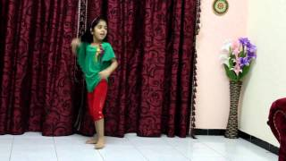 Riya's dance video on radha tera jhumka