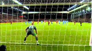 Liverpool v Manchester City 2-2 carling cup semi final