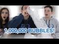 DIY BUBBLE SNAKE! 1 MILLION BUBBLES!