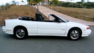 1994 Oldsmobile Cutlass Convertible Roadster SL GM W-Body 1 Owner 36K Orig Mile Time Capsule!