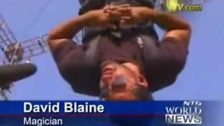 David Blaine Stunt Kiss of Death