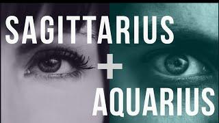 Sagittarius & Aquarius Sun: Love Compatibility