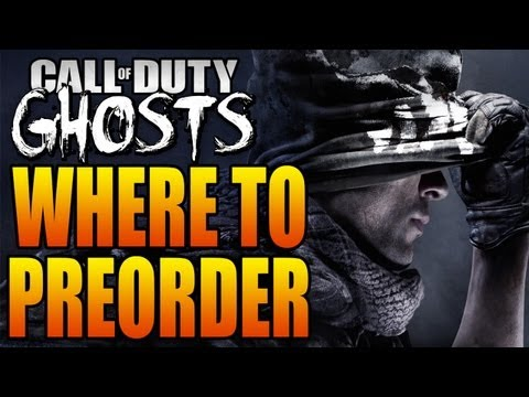 Where to Preorder Call of Duty: Ghosts + Special Hardened and Prestige Editions! (COD Ghost Bonuses)