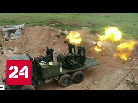 Наступление на Хальфая: боевики бегут, бросая оружие