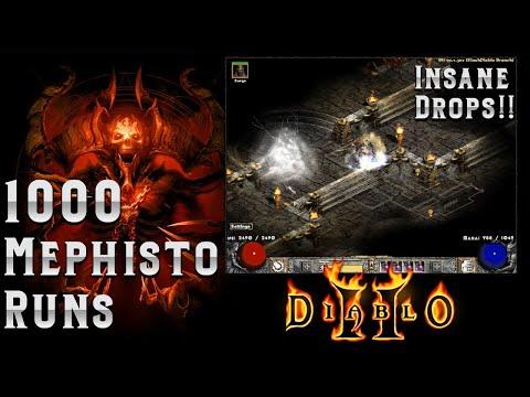Download 1000 Mephisto runs with a Twist!!  Insane RNG - Diablo 2 Mp4 baru