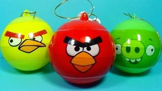 ANGRY BIRDS surprise eggs 3 eggs surprise Angry Birds For Kids For BABY MyMillionTV