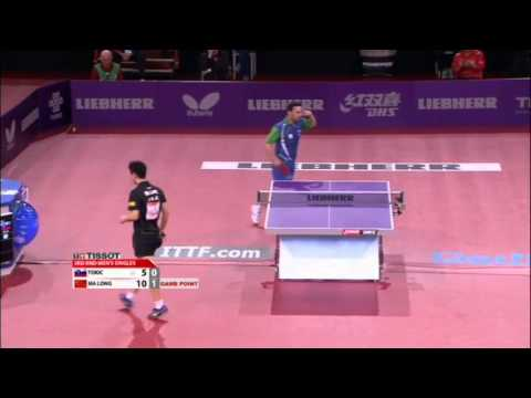 WTTC 2013 Highlights: Ma Long vs Bojan Tokic (Round 3)