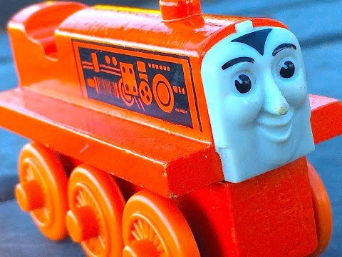 Thomas & Friends Terence Wooden Railway Toy Train Railway Review By Mattel Fisher Price video