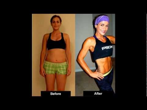 BEST WEIGHT LOSS TRANSFORMATION P90X success story! - Jamie Len