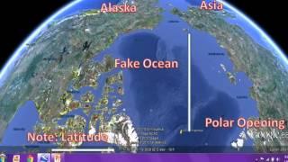 Mt Meru, Inner Earth 90' Arctic Latitude