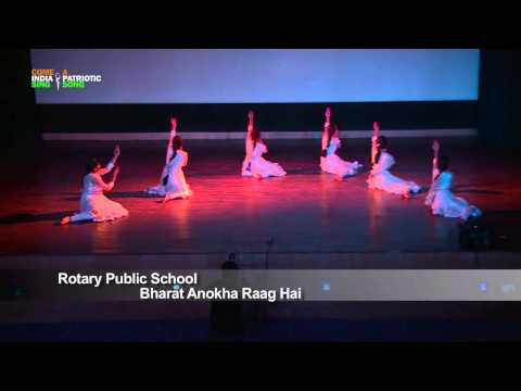 "Dance Performance: ""bharat Anokha Raag Hai"" By Students Of Rotary Public School, Gurgaon, Haryana video"