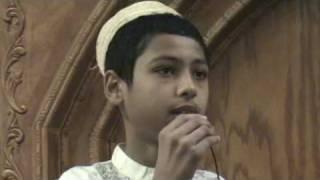 Surah Zilzal... Alright I'll recite, but without Tajweed