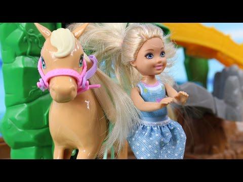 Pierwsza Jazda Konna | Barbie & Jej Wysokość Zosia & My Little Pony | Bajki dla dzieci