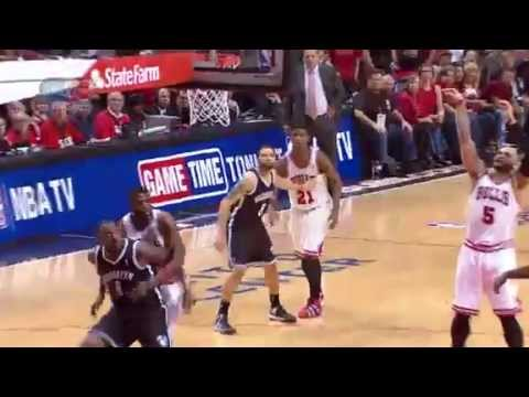NBA CIRCLE - Brooklyn Nets Vs Chicago Bulls Game 4 Highlights 27 April 2013 NBA Playoffs