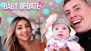 OUR 2 MONTH BABY UPDATE!!! (HUGE SURPRISE!)
