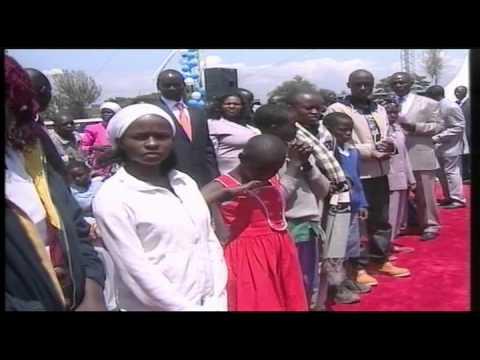 The  Grand Mega Nakuru  11th August 2013,Sunday - Prophet Dr. Owuor