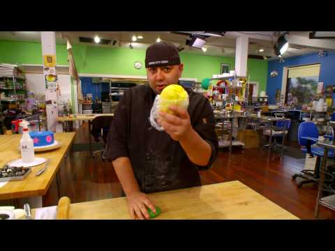 Duff Goldman by Gartner Studios-Coloring Fondant