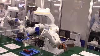 2017国際ロボット展(11/29)ーエプソンの多軸ロボット」のプレゼンョン