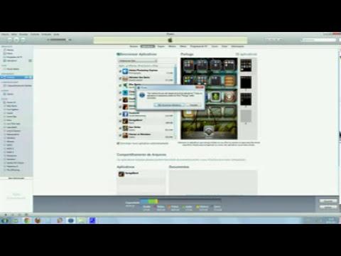 Ipod Nao Sincroniza Com ITunes , (nao instala os aplicativos
