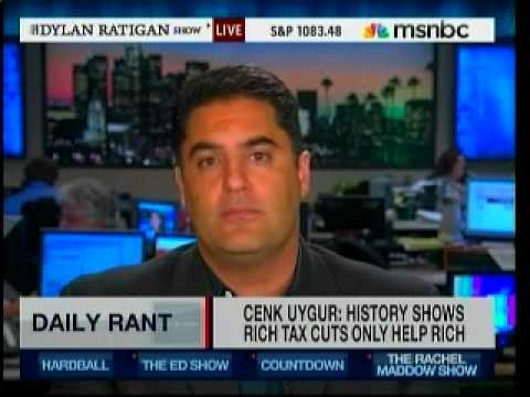 Tax Cuts For Rich Don't Work - Cenk On MSNBC