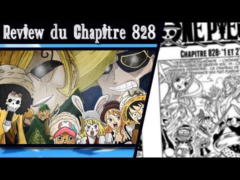 [Review] Sacn 828| 1&2 | La route de Whole Cake Island ! Les frères de Sanji !| OnePiece-Actu