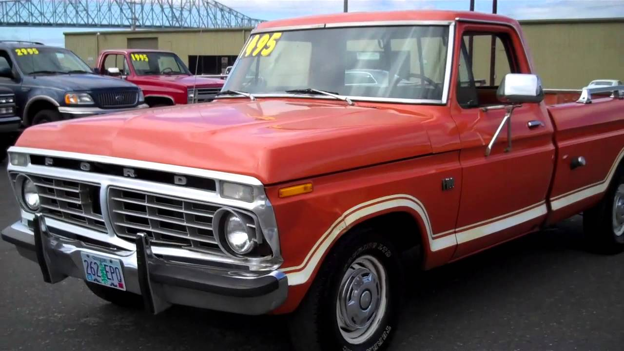 1973 Ford F100 Sold Youtube