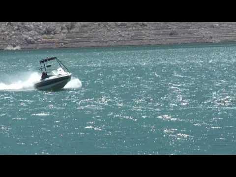 1998 Sanger V210 Lake Test Boulder Boats Lake Mead