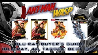 ANT-MAN AND THE WASP - 4K/BLURAY UNBOXING (BLURAY, 4K, TARGET, BEST BUY) - BLURAY BUYERS GUIDE