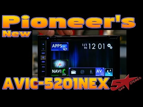 Pioneer's new 2017 Avic 5201NEX unboxing and review