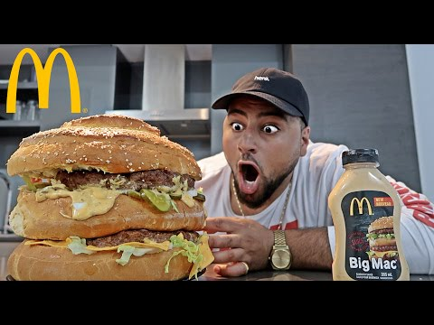 DIY GIANT MCDONALDS BIG MAC!! (WORLD RECORD)