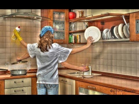 Мотивация к уборке  Мою раковину на кухне.  Флай леди