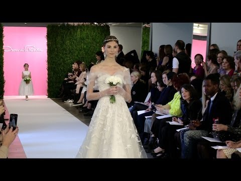 Oscar de la Renta Bridal Spring 2015 -- New York Bridal -- Interviews & Runway | Videofashion