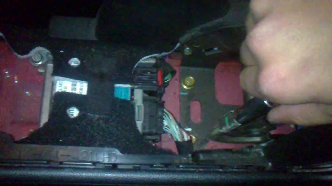 How To Adjust Handbrake Cable Mazda 3 Youtube