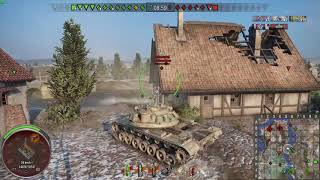 World of Tanks Console M103 on Erlenberg. A fantastic gun on an alright tank.
