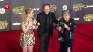 Star Wars' actress Carrie Fisher reportedly suffers heart attack on flight