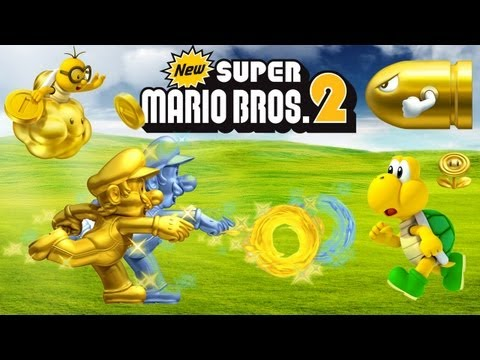 New Super Mario Bros 2 - 3DS: Unbox e Primeiros Minutos