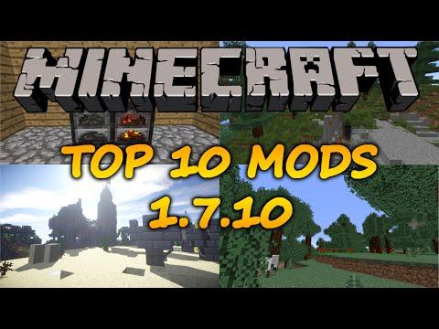 Top 10 Minecraft Mods (1.7.10) - 2014