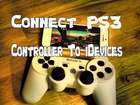 Play iOS Games With PS3 Control: