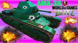 WoT Blitz  Ветка французских средних танков  World of Tanks Blitz (WoTB) обзор AMX-38
