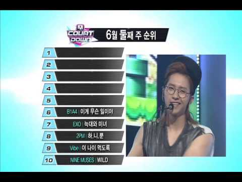 엠카운트다운 - M COUNTDOWN This Week Top10 (2013.06.13)